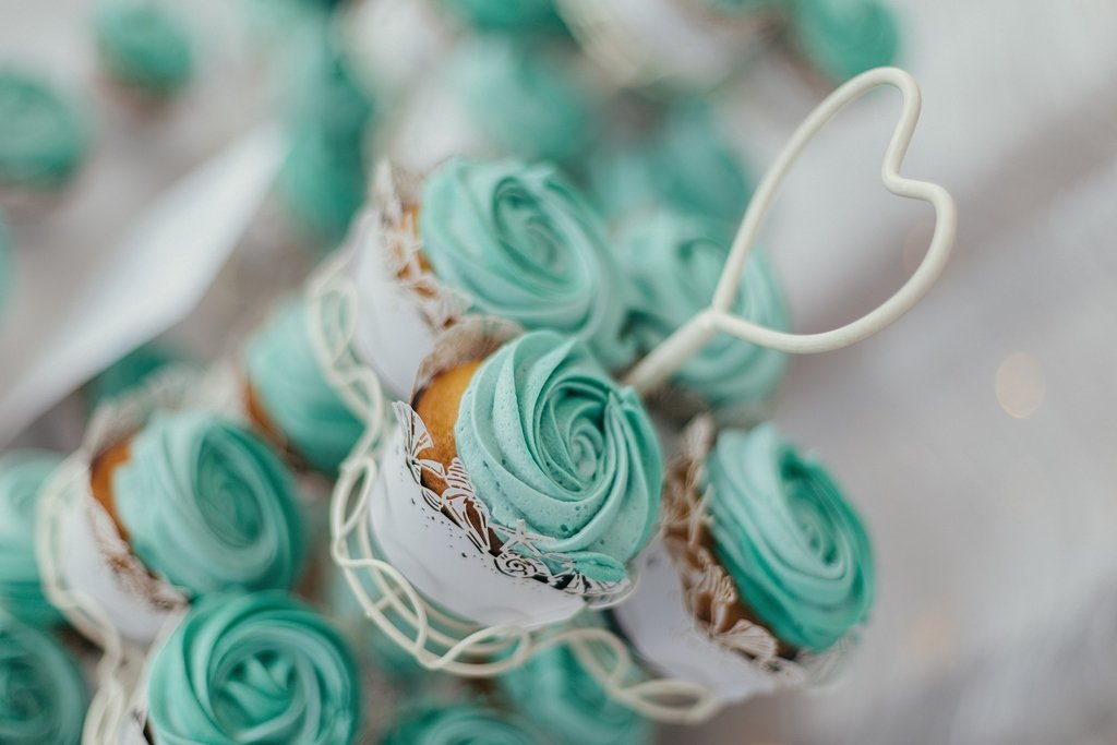 Petal Cupcakes during our wedding