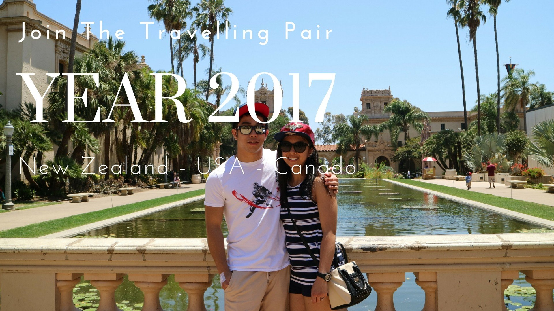 Year 2017 – Join The Travelling Pair