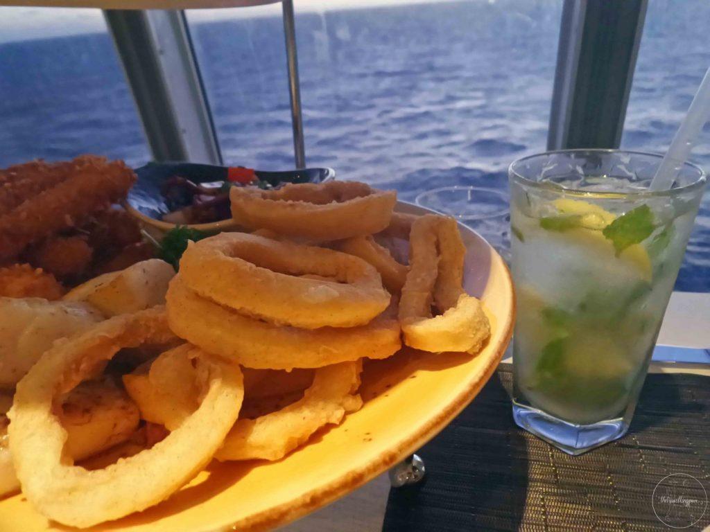 po cruise food