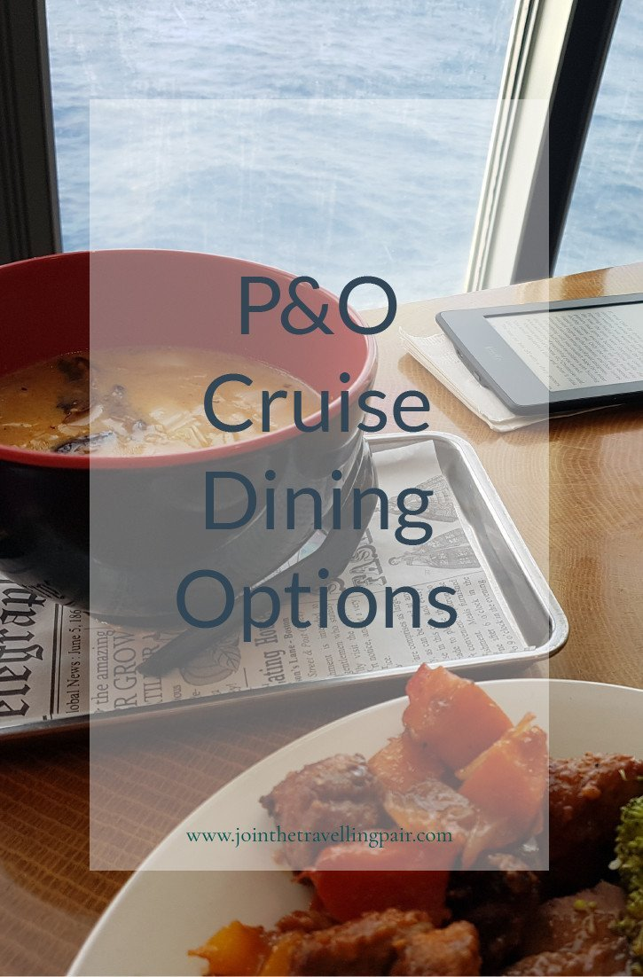 p and o food