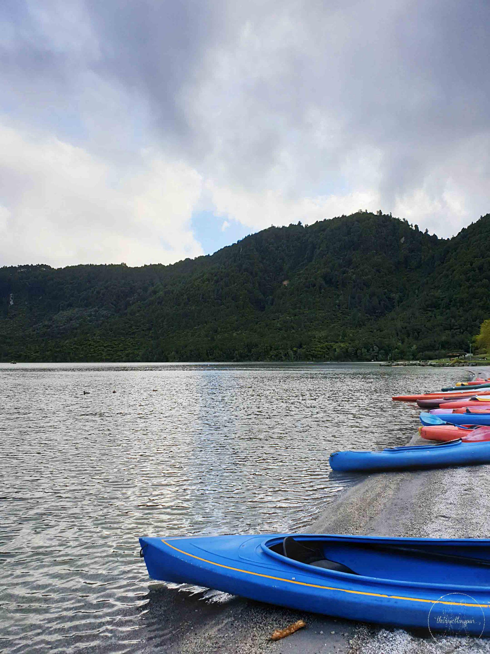 Lake Tikitapu, Rotorua - Join the Travelling Pair
